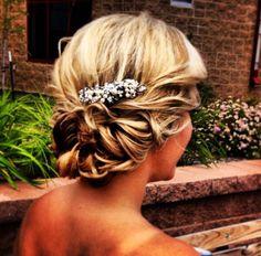 Wedding hair updo wedding hair updo, hairstyl, bridesmaid hair updo, bridesmaids hair updo