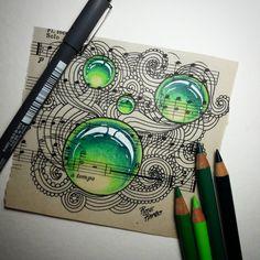 Mandalas Drawing, Zentangle Drawings, Doodles Zentangles, Doodle Drawings, Mandala Doodle, Zen Doodle, Doodle Art, Doodle Designs, Doodle Patterns