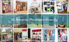 16 armarios Montessori-friendly – 16 Montessori friendly closets