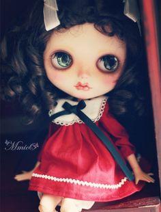 mmioo  Blythe vintage style children dress/ Gemini/ twins by mmioo
