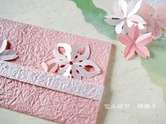 〜桜づくし 桜を楽しむ和の包み「桜包み」、紋切りの桜にハマる!!〜 包み結び 櫻撫子のブログ