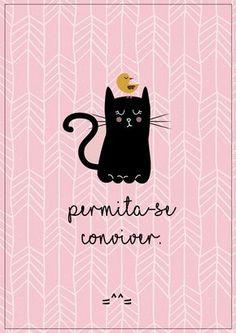3 pôsteres grátis pra amar os gatos =^^= - Ricota Não Derrete Poster Prints, Art Prints, More Than Words, Quote Posters, Oeuvre D'art, I Love Cats, Cat Art, Cat Lovers, Illustration Art
