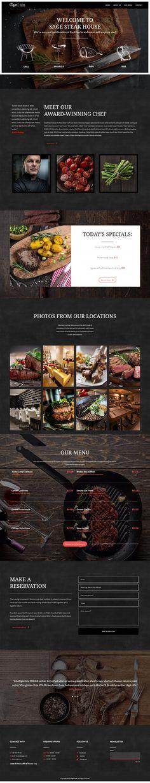 Sage   WordPress Restaurant Theme