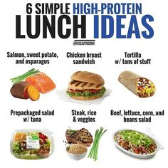 high protein foods, the truths about high protein food and what you must know for healthy living High Protein Lunch Ideas, High Protein Recipes, Diet Recipes, Healthy Recipes, Healthy Tips, Protein Foods, Healthy Protein, Clean Recipes, Healthy Snacks