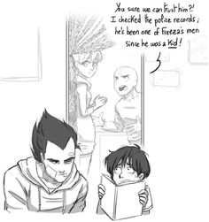 The beginning- stupidoomdoodles Dragon Ball Z, Pokemon Fairy, Dbz Memes, Vegeta And Bulma, Strange Magic, Familia Anime, Video Game Anime, Dragon Images, I Love Anime