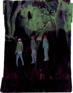 """Three men"" by Jamie Boyd, watercolour, 36 x 45cm, £550."