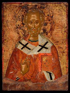 Greek Icons, Russian Icons, Black History Facts, Saint Nicholas, Orthodox Icons, Byzantine, Saints, Photo Wall, Bible