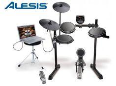 Kit de percusión electrónica ALESIS DM6 USB Express Kit #Pinterest