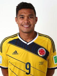 Las fotos oficiales de #Colombia #Fifa #Brasil2014 - Teofilo Gutierrez