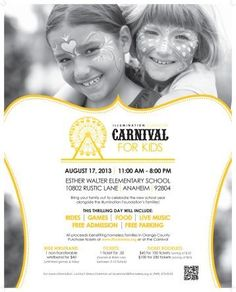 Carnival For Kids Anaheim, CA #Kids #Events