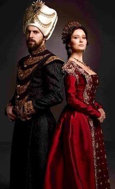 Old Fashioned Clothes  : Sultan Murad IV. and Kösem Sultan from Muhteşem Yüzyıl Kösem
