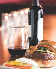 The unbeatable combo of red wine and red meat at 25 Degrees in the Hollywood Roosevelt in Los Angeles