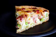 Mad på 4 sal: Tærte med spidskål, asparges og bacon