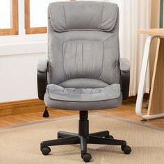 Ebern Designs Drago Ergonomic Microfiber Executive Chair