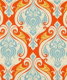 Sea Scallop Coral Reef; using this on our dining room chairs!