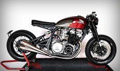1981 Honda CB 750 Cafe Racer - Nicolas Motors #motorcycles #caferacer #motos | caferacerpasion.com