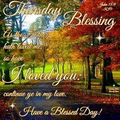 ✨Thursday Blessings! ✨John 15:9✨