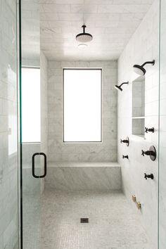 marble - shower | studio mcgee