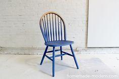 Chouette, une chaise ombrée!