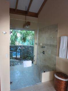 """Indoor Outdoor Shower dutch door for shower? indoor/outdoor shower. from """"michael s"""