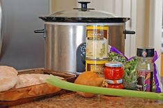 Crockpot Chicken ala King - Eat at Home