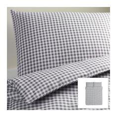 Guest room comforter - LIAMARIA Duvet cover and pillowcase(s) - Full/Queen (Double/Queen)  - IKEA