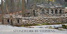 How to make a miniature stone house