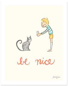 sarah jane | be nice