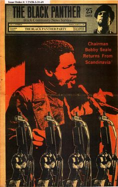 """The Black Panther (March 31, 1969)  """"Chairman Bobby Seale Returns from Scandinavia"""""""