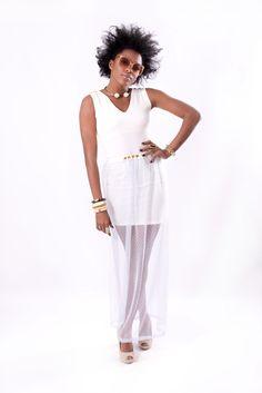 www.tamaraheraclio.com Dress + long skirt = Odri