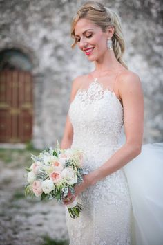 Flowers - Events - Gardening at Kefalonia island Wedding Bouquets, Wedding Dresses, David Austin Roses, Dusty Miller, Event Styling, White Roses, Bride, Princess, Flowers