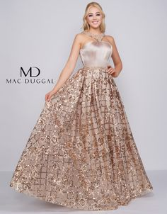 Ball Gowns by Mac Duggal Born in India, MacDuggal developed an eye for fashion at a very young age. Tulle Ball Gown, Ball Gown Dresses, Formal Evening Dresses, Strapless Dress Formal, Prom Boutiques, Full Length Gowns, Cocktail Attire, Special Occasion Dresses, Homecoming Dresses