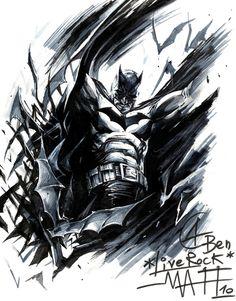 Batman by Francesco Mattina Comic Art