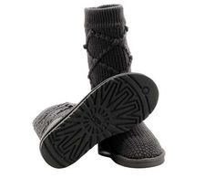 Charcoal Classic Argyle Knit UGG Boots.The Christmas promotion!  Our Price : $160.00 Sale Price :$96.99 Save: 39% off!!