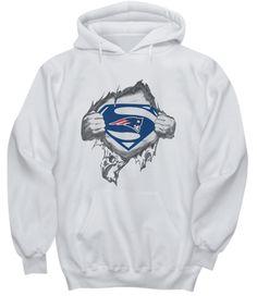 Superman New England Patriots hoodie 5d46eddc3