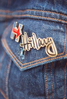 Wear your Hillary 2016 support on your sleeve. Pick up the Signature Pin and Logo Pin at the shop.