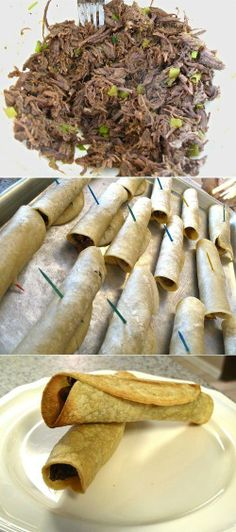 Beef Taquitos - Love with recipe
