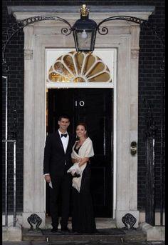 Novak Djokovic & His Girlfriend