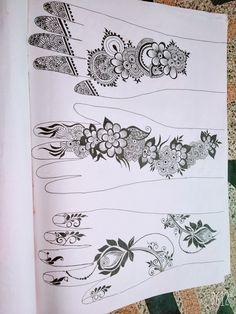 Henna Tattoo Designs Arm, Floral Henna Designs, Indian Mehndi Designs, Mehndi Designs Book, Latest Bridal Mehndi Designs, Mehndi Designs 2018, Mehndi Design Pictures, Mehndi Designs For Girls, Henna Designs Easy
