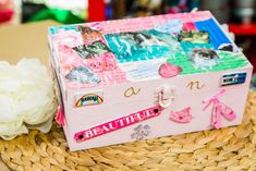 This DIY Watercolor #JewelryBox is a great project to do with your kids to treasure memories! For more DIYs, watch Home & Family weekdays at 10a/9c on Hallmark Channel!