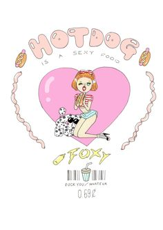 foxy illustrations: New T♡