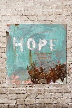 HauteLook | Art Necessities By Kent Youngstrom: Hope Canvas Wall Art