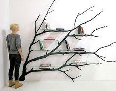Artist Finds Fallen Tree Branch On Road, Turns It Into Shelf