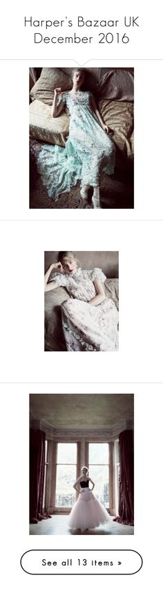 """""""Harper's Bazaar UK December 2016"""" by mymind-is-a-warrior ❤ liked on Polyvore"""