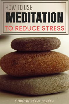 How to Use Meditation to Reduce Stress - Chronic Mom Life Easy Meditation, Meditation For Beginners, Meditation Benefits, Meditation Techniques, Meditation Quotes, Weight Loss Tips, Lose Weight, Too Much Stress, Anxiety Panic Attacks