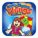 """""""Let's Name Things"""" Fun Decks Super Duper iPad or Android App- $Free! Multidecks available in this app (for free!).  Examples: things that are sweet, things that are salty, things we see at the zoo...  Add as many players as you want and easily keep up with data.  You can even email yourself the data after the """"game"""" is over."""