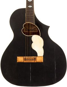 1913 Stathopoulo AY-25 Black Acoustic Guitar, Serial # 5767. Historically significant guitar from the the builders that evolved into Epiphone…  | Tumblr