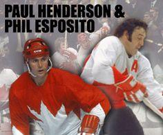 Paul Henderson & Phil Esposito Public Signing