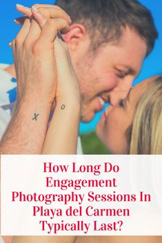 Is a romantic getaway to Riviera Maya, Mexico on the calendar? Honeymoon, engagement or proposal photography sessions...here is what to expect!  (Engagement photography by Fun In the Sun Weddings) https://funinthesunweddings.com/how-long-do-engagement-photography-sessions-in-playa-del-carmen-typically-last/