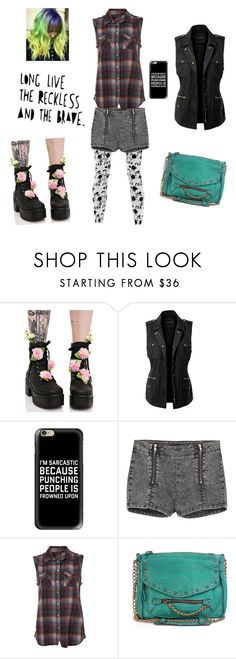 """Untitled #415"" by briettani-michael ❤ liked on Polyvore featuring Sugar Thrillz, LE3NO, Casetify, Coven, The Kooples and Abaco"